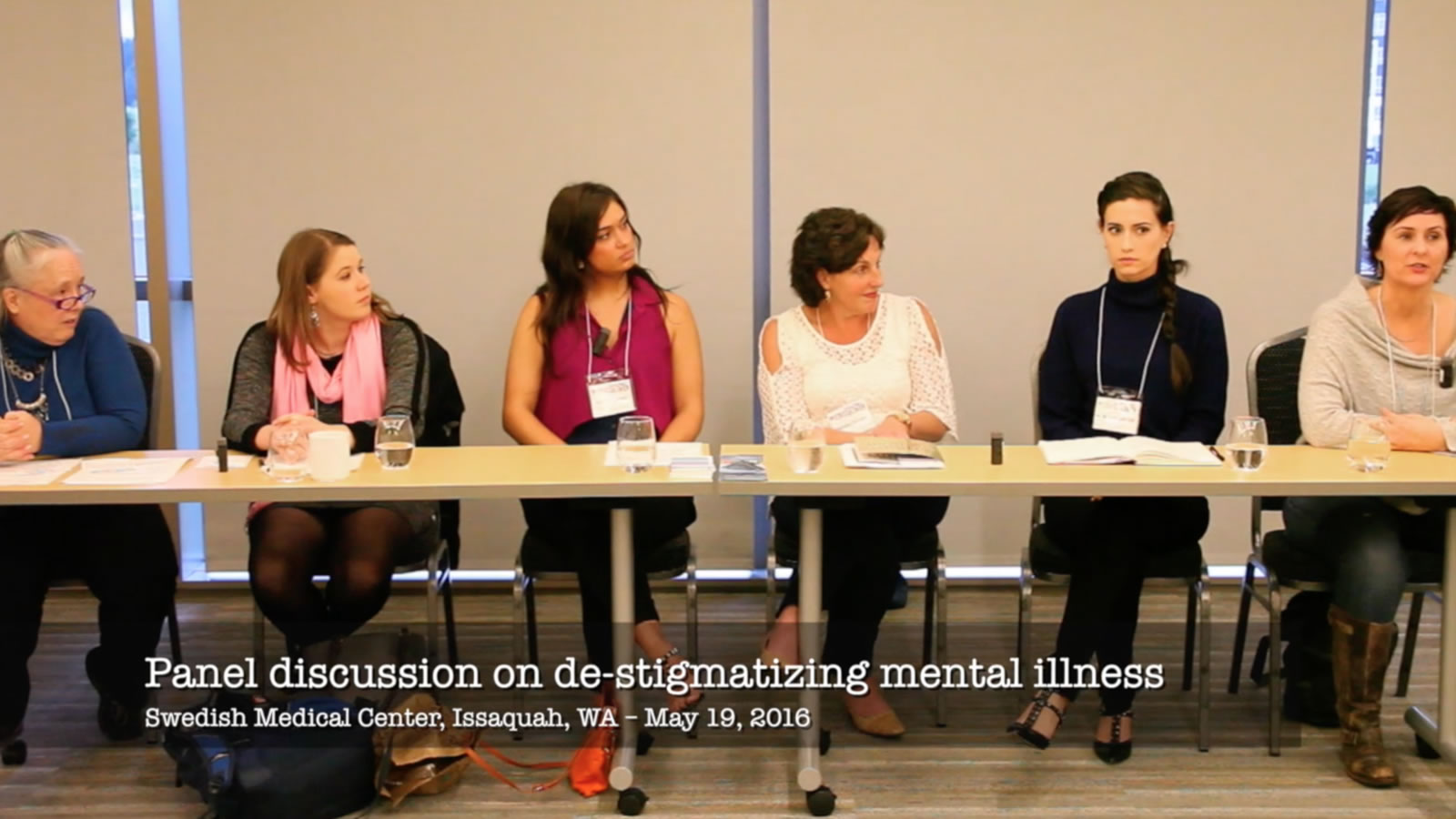 Incredible Intensity of Just Being Human - Swedish Hospital Panel Discussion on Stigma