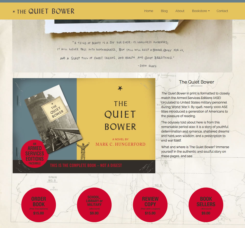 the quiet bower 1 cover