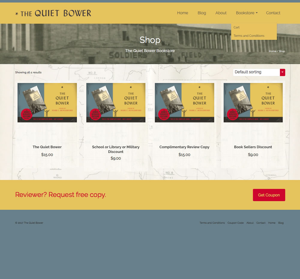 the quiet bower 3 online store