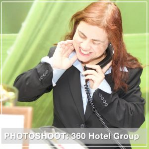 360 Hotel Group Employee Handbook Photoshoot