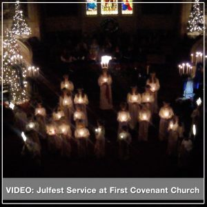 Julfest Service, First Covenant Church Seattle